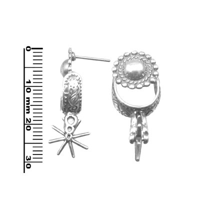 abe09dfe0 er0007. £10.00. Post-Stud. South Western style sterling silver earring ...
